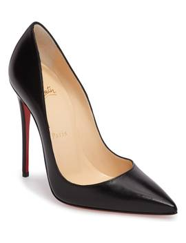 'so Kate' Pointy Toe Leather Pump by Christian Louboutin