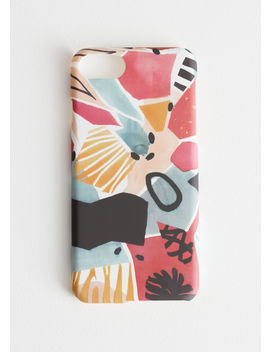 Abstract Watercolour I Phone 7 Case by & Other Stories