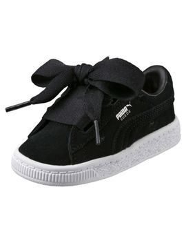 Suede Heart Valentine Infant Training Shoes by Puma