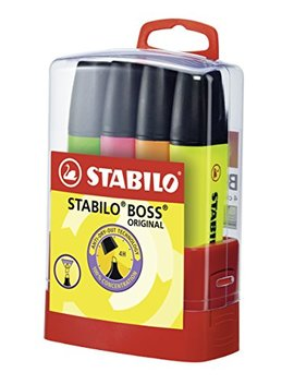 Stabilo Boss Original Highlighters Pack Of 4 Assorted Colours by Stabilo