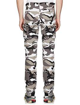 Camouflage Cotton Cargo Pants by Balenciaga