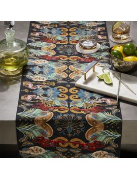 Regal Monkeys Table Runner by Crate&Barrel