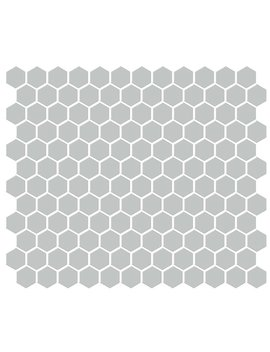 "Emser Tile Shape 1"" X 1"" Porcelain Mosaic Tile In Gray by Emser Tile"