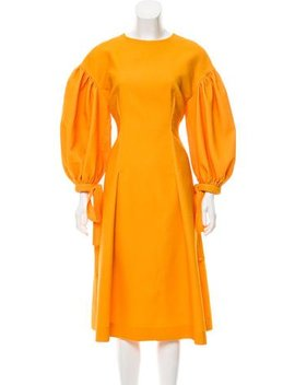 Rejina Pyo 2017 Jamie Puff Sleeve Dress by Rejina Pyo