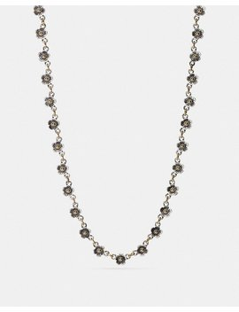 Ditsy Willow Floral Chain Necklace by Coach
