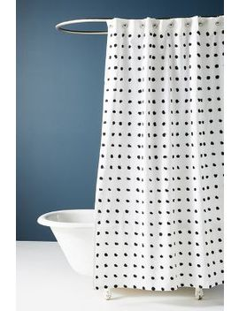 Tufted Makers Shower Curtain by Anthropologie