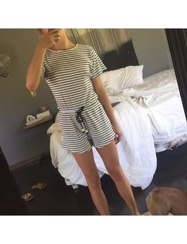 Sabo Skirt Stripe Playsuit by Sabo Skirt