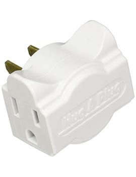 Hug A Plug   Dual Outlet Wall Adapter, Twin Pack White by Hug A Plug