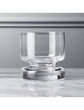 Bottom Heavy Double Old Fashioned Glass by Crate&Barrel