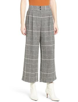 Pleated Plaid Linen Pants by Bp.