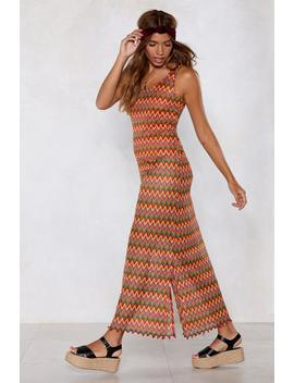 Another Crochet In Paradise Maxi Dress by Nasty Gal