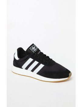 I 5923 Black White & Gum Shoes by Adidas