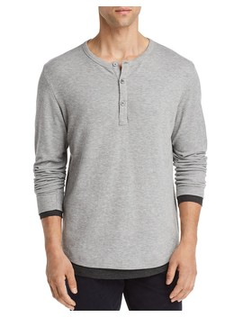 Double Layer Henley   100 Percents Exclusive by Theory