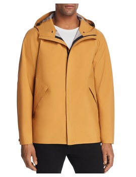 Mitchell Three Layer Poplin Hooded Jacket by Theory