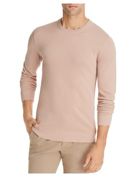 Riland Pique Breach Crewneck Sweater   100 Percents Exclusive by Theory