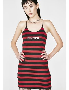 The Sinner Skinny Dress by O Mighty