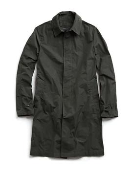 Tech Trenchcoat In Olive by Todd Snyder