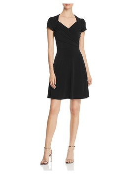Ruched Sweetheart Dress by Leota
