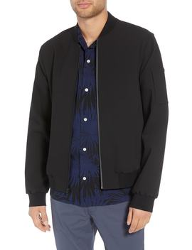Regular Fit Bomber Jacket by Vince