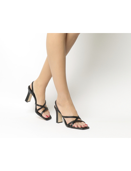 Mariah Square Toe Strappy Sandals by Office