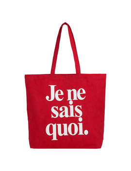 Whistles Je Ne Sais Quoi Tote Bag, Red by Whistles