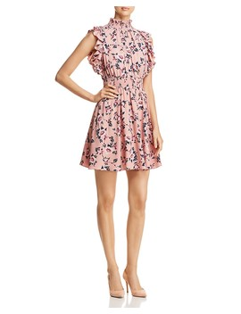 Prairie Rose Sleeveless Ruffle Trim Dress by Kate Spade New York