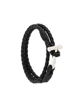 Tom Fordwoven Leather String Bracelethome Men Tom Ford Jewelry Braceletschecked Blazer Woven Leather String Bracelet by Tom Ford