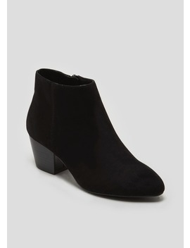 Zip Pointed Ankle Boots by Matalan