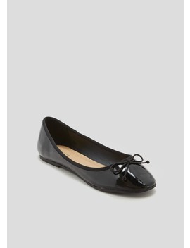 Patent Ballet Shoes by Matalan