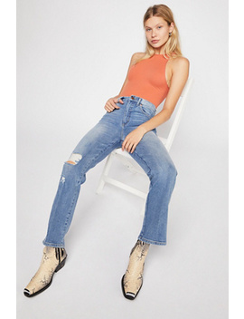 Wrangler High Rise Heritage Fit Jeans by Free People