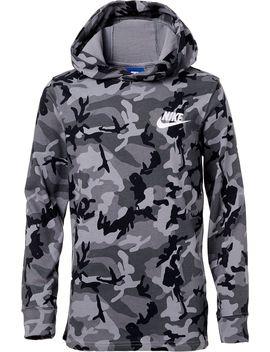 Nike Boys' Sportswear Jersey Camo Hoodie by Nike
