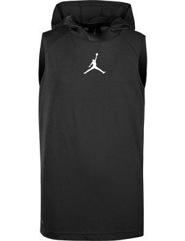 Jordan Boys' Dry 23 Alpha Fitted Sleeveless Hoodie by Jordan