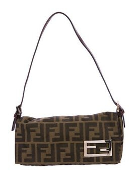 Fendi Zucca Flap Bag by Fendi