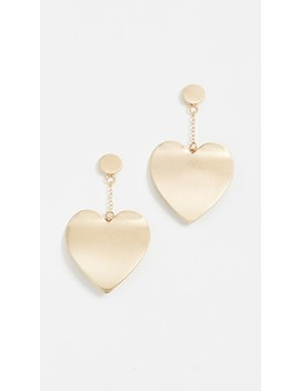 Sadie Heart Drop Earrings by Rebecca Minkoff