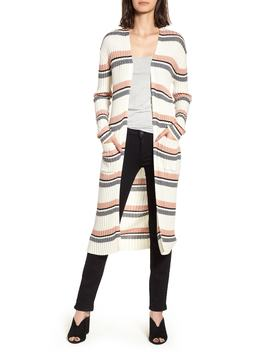 Stripe Midi Open Cardigan by Bp.