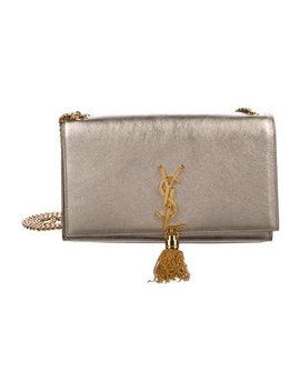 Saint Laurent Metallic Leather Kate Shoulder Bag by Saint Laurent