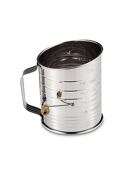 Mrs. Anderson's Baking® Hand Crank 5 Cup Flour Sifter In Stainless Steel by Bed Bath And Beyond
