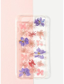 Floral Print I Phone Case by Romwe