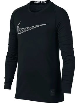 Nike Boys' Pro Fitted Long Sleeve Shirt by Nike