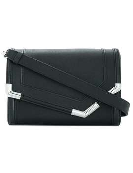 Rocky Saffiano Shoulder Bag by Karl Lagerfeld