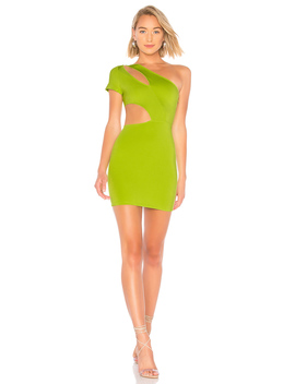 Letta Asymmetric Cut Out Bodycon by By The Way.