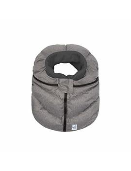 7 Am Enfant Car Seat Cocoon, Wind And Water Resistant, Versatile, On The Go And Elasticized Car Seat Cover Micro Fleece Lined (Heather Grey,... by 7 A.M. Enfant