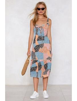 Patch Made In Heaven Dress by Nasty Gal