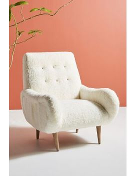 Wool Losange Chair by Anthropologie