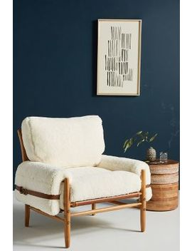 Wool Rhys Chair by Anthropologie