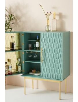 Feather Collection Bar Cabinet by Bethan Gray For Anthropologie