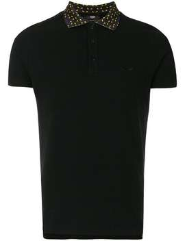 Fendishort Sleeve Polo Shirthome Men Fendi Clothing Polo Shirts by Fendi