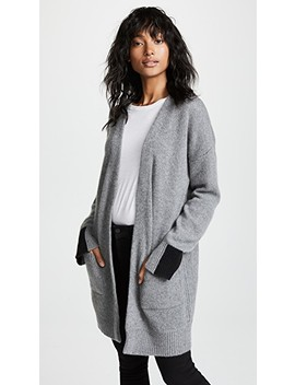 Brito Cashmere Cardigan by 360 Sweater