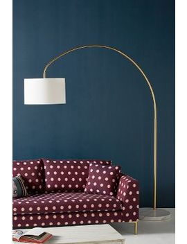 Brass Arch Floor Lamp by Anthropologie