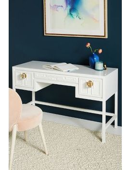 Lacquered Carre Desk by Tracey Boyd